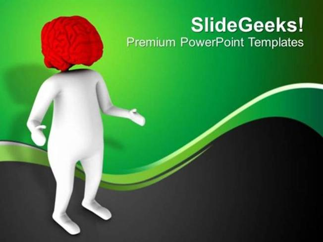 Science Brain Is The Important Part Of Human Body Ppt Template