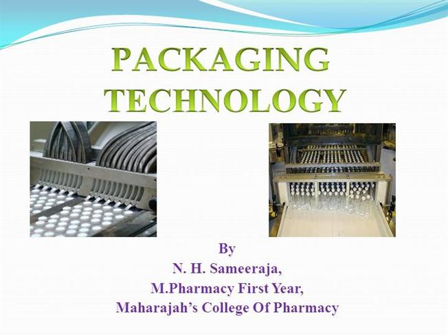 PHARMACEUTICAL PACKAGING TECHNOLOGY |authorSTREAM