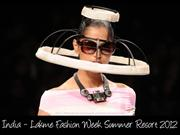 India  Lakme fashion week summer resort 2012