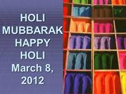 Slide Show on Holi 2012