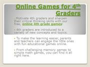 Online Games for 4th Graders