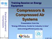 Compressor and compressed air systems