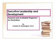 Executive Leadership and Development--South Africa