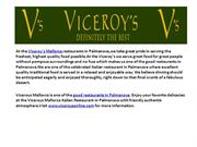 Viceroys Mallorca, Best Steaks in Mallorca