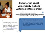 Indicators of Social Vulnerability (SV) and.pptx -PRESENTATION VIEW