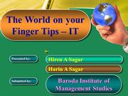 World on your finger tips - IT