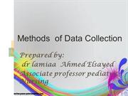 lamiaa methods of data collection
