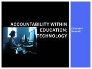 Accountability Within Education