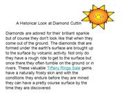 A Historical Look at Diamond Cutting