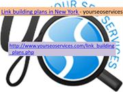 Link Building Plans in New York