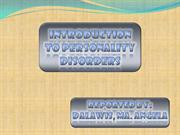 Introduction to Personality Disorders