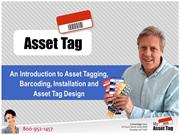 Asset Tags - Intro to All Kinds of Asset Tags & Barcoding Solutions