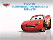 consumer behaviour towards buying cars
