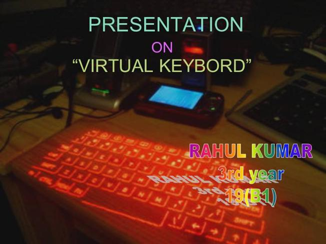 Virtual keyboard authorstream ccuart