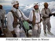 PAKISTAN Kalpani base in Winter