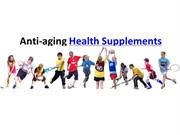 Anti-aging Health Supplements