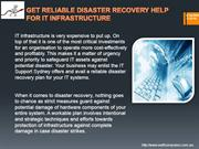 GET RELIABLE DISASTER RECOVERY HELP FOR IT INFRASTRUCTURE -swiftcomput