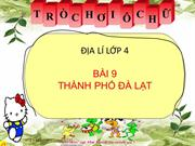 Bai 9Thanh pho Da Lat