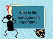 file management proj