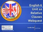 English 6 Unit 10 Webquest Grammar