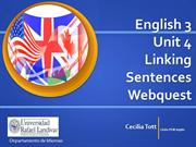 English 3 Unit 4 Webquest Grammar