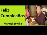 Feliz Cumpleanos Manuel Bonilla