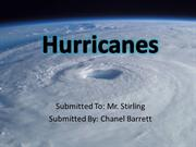 Hurricanes No Audio - Chanel Barrett