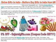 Attractive Gifts to India Online with Gujaratgifts.com