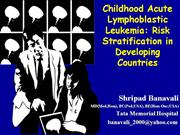 Childhood Acute Lymphoblastic Leukemia R...