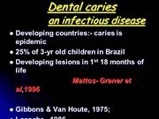 CARIES VACCINE