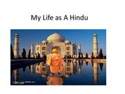 My Life as A Hindu