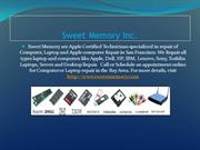Computer, Laptop Repair and screen replacement Services San Francisco