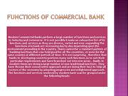 INTRODUCTION OF COMMERCIAL BANK