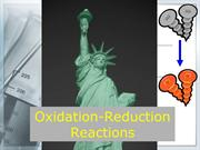 Defining Oxidation-Reduction