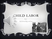 Child labor video