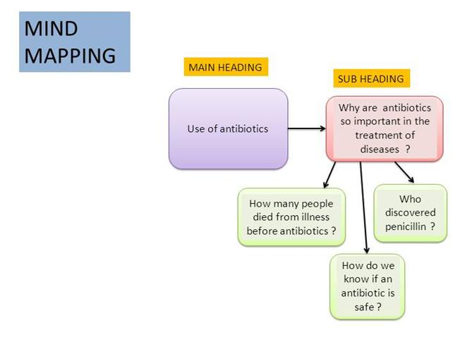 mind map for essay writing