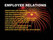 Lecture-9 Employee relations