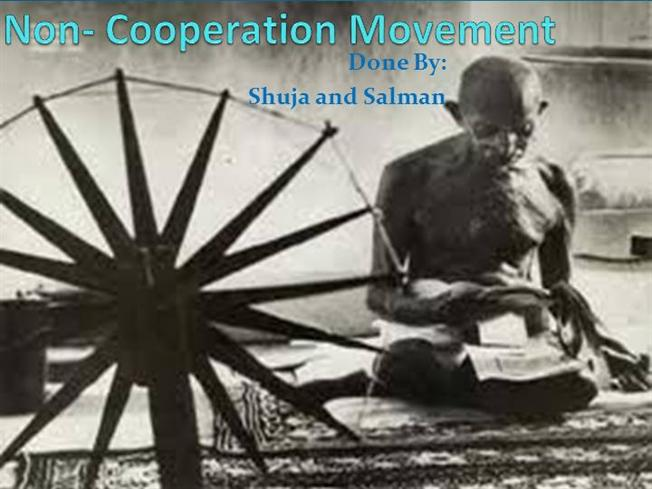 difference between civil disobedience movement and non cooperation movement
