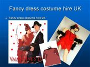 Fancy dress costume hire UK