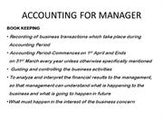 ACCOUNTING FOR MANAGER