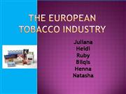 European Tobacco Industry