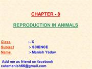 8-REPRODUCTION IN ANIMALS