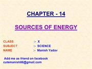 14-SOURCES OF ENERGY)