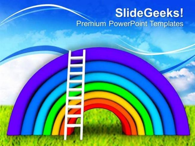 Business beautiful rainbow colorful theme ppt template powerpoint related powerpoint templates toneelgroepblik Gallery