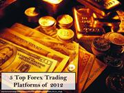 Forex Trading Platforms