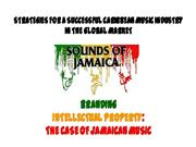 CARIBBEAN MUSIC IN A GLOBAL MARKET