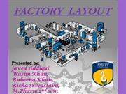 TABLET factory layout