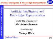 Artificial Intelligence and Knowledge Representation