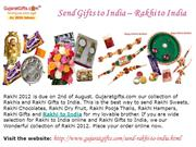 Gifts to India, Send Rakhi to India, Send Gifts to India for Rakhi