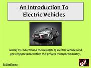 An Introduction Into Electric Vehicles